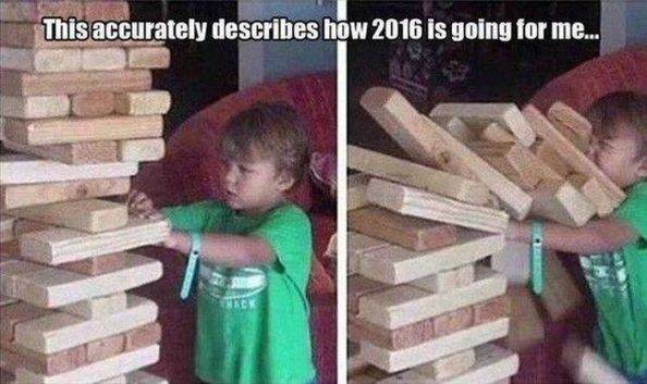 how 2016 is going how 2016 is going