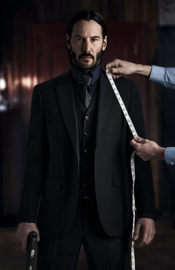 John Wick is getting fitted for a new suit 664x1024 John Wick is getting fitted for a new suit