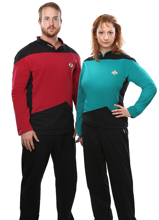 16bf star trek tng pajama set Star Trek TNG Pajama Set