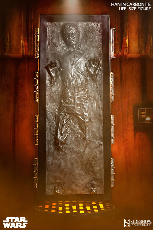 Life-Size Han Solo In Carbonite Can Be Yours For Just $6,999
