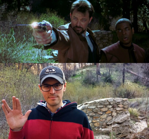 Trekkie's Trip to First Contact Filming Locations