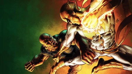 luke cage vs iron fist