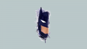 batman ink smudge