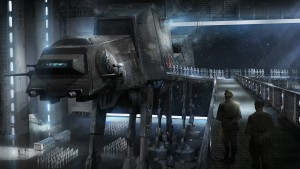 Star Wars At-At Deployment