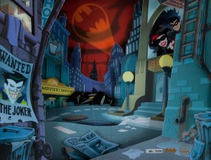 The Animated Batman City
