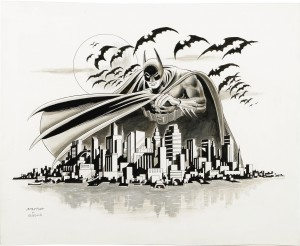 batman over gotham