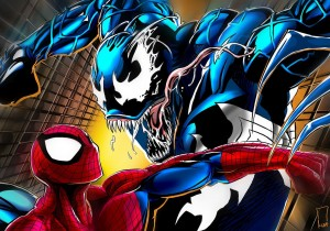 spider-man vs squiggle venom