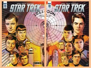 Star Trek 59 and 60 Joined Covers