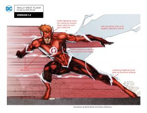 Wally West Flash Version 1.2