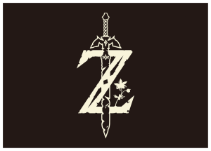 Zelda Z with sword