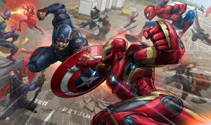 captain america – civil war by patrickbrown