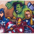 animation of super heroes