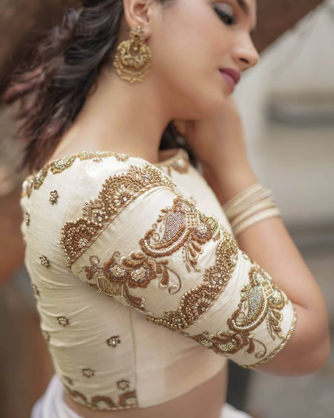 Bridal Blouse Design