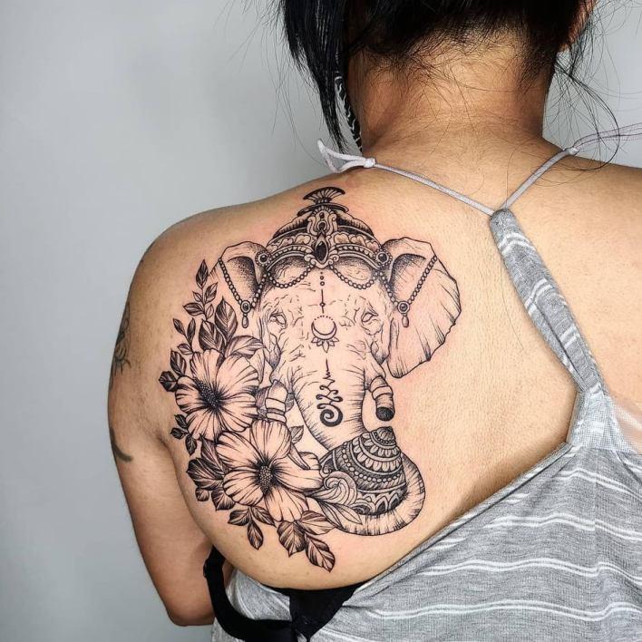 Ganesha Tattoo - Tikli