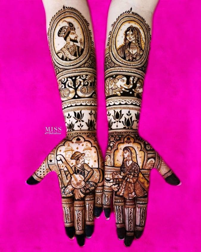 Dulhan Mehndi Designs