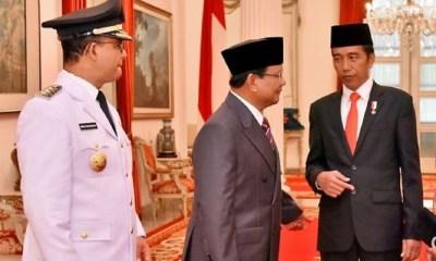 TIKTAK.ID - Anies Baswedan Bersama Prabowo Subianto dan Presiden Joko Widodo