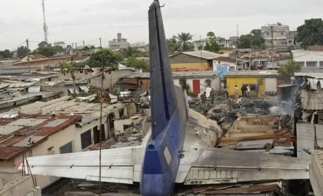 TIKTAK.ID - Pesawat di Kongo Jatuh ke Permukiman