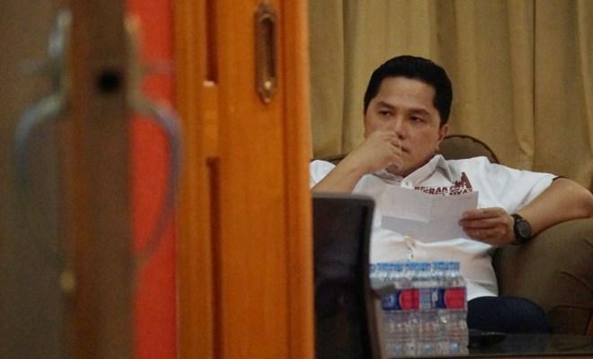 Erick Tohir Mata Najwa