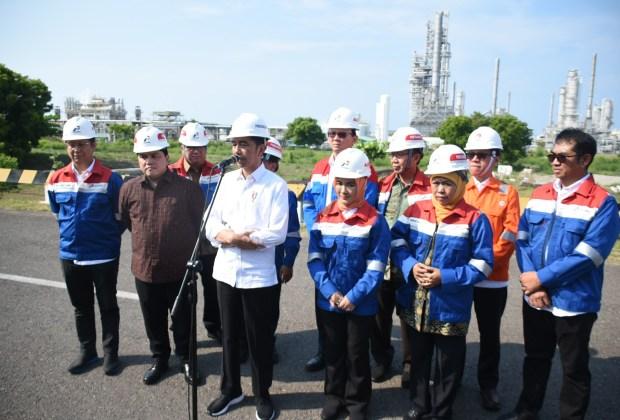 Jokowi Beri Tenggat 3 Tahun, Kilang Minyak TPPI Tuban Harus Beroperasi