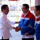 Jokowi Bertemu Ahok di TPPI Tuban