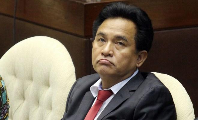 TIKTAK.ID - Tak Kebagian Jatah Jabatan, Yusril Tetap Loyal Dukung Jokowi