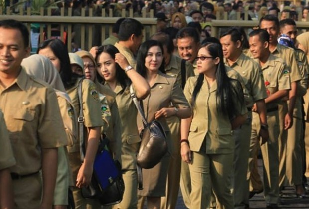 TIKTAK.ID - Jokowi Pastikan Semua ASN di Jakarta Pindah ke Kaltim 2024