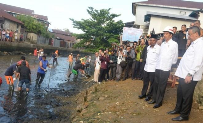 Jokowi: Mau Pakai Normalisasi atau Naturalisasi Silakan, yang Penting Segera Kerjakan
