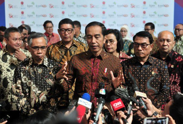 Pesan Awal Tahun Jokowi pada OJK dan BEI: Bersihkan Pasar Modal dari Manipulator Penggoreng Saham