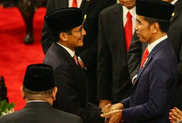 Jokowi Yakin Sandiaga Uno Gantikan Dirinya di Pilpres 2024, Pengamat: Prediksi Bagus!