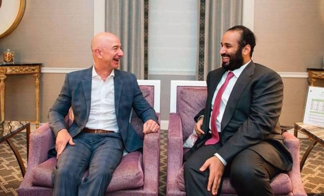 MBS diduga Sadap Handphone Jeff Bezos