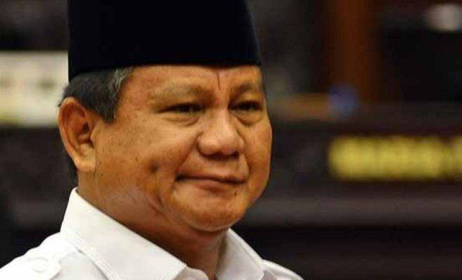 Prabowo Dianggap Lembek Soal Natuna