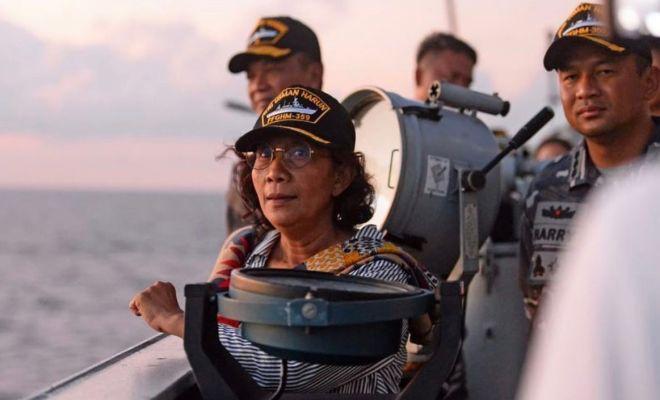 Susi Angkat Suara Terkait Klaim China Atas Pulau Natuna