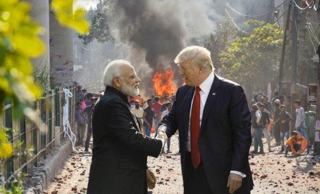 Di Tengah Kunjungan Trump, Rusuh Parah Demo 'UU Anti Muslim' India Makan Korban, 20 Tewas 189 Terluka