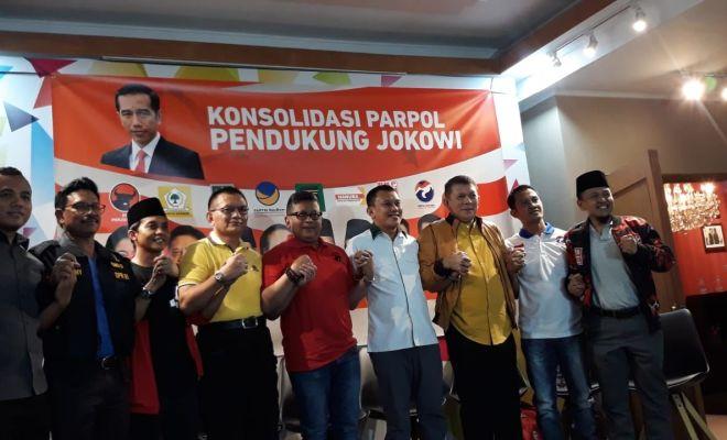 TIKTAK.ID - Tak Bisa Ikut Pilpres 2024, Mayoritas Partai Tetap Dukung Jokowi