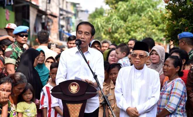 Survei Kepuasan Publik di 100 Hari Jokowi-Ma'ruf: Alvara 69,4 Persen, Indo Barometer 70,1 Persen