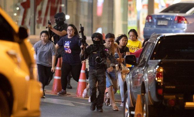 Warga Thailand Panik, Tentara Ngamuk yang Tewaskan 20 Pengunjung Mal Belum Tertangkap dan Masih Berkeliaran