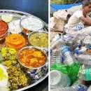 Enaknya Makan di Café India, Cukup Bayar Pakai Sampah Plastik Saja