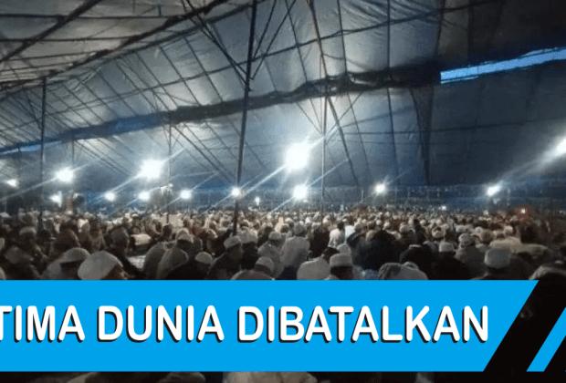 TIKTAK.ID - Jokowi Lega Acara Ijtima Jamaah Tabligh di Kabupaten Gowa Dibatalkan