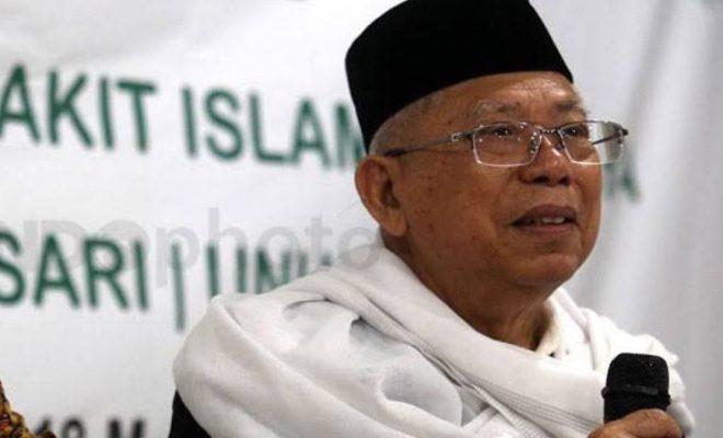 TIKTAK.ID - Ma'ruf Amin Sebut Pemerintah Berencana Beberkan Identitas ODP dan PDP Corona
