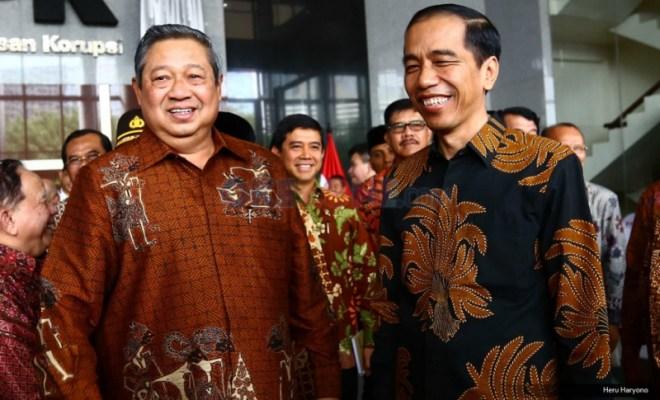 SBY Dukung Jokowi Setelah Bertemu Airlangga Hartanto