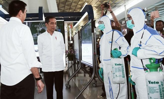 Setelah Menhub Budi Karya Sumadi Positif Corona, Giliran Jokowi Jalani Pemeriksaan Virus Corona Sore ini