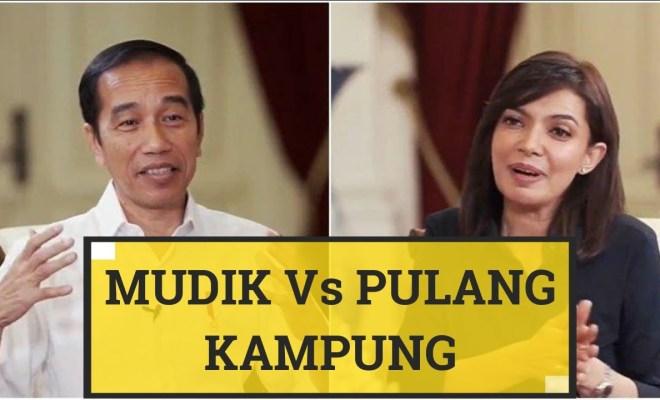 Cek Makna Kata 'Mudik' dan 'Pulang Kampung' di KBBI, yang Viral Pasca Wawancara Jokowi di Mata Najwa