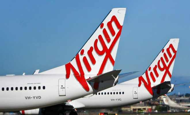 Maskapai Virgin Australia Nyaris Runtuh di Bawah Tekanan Covid-19