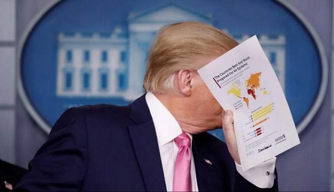Kocak! Hasil Survei Sebut Warga Amerika Anggap Trump Lelet Tangani Corona, Netizen Sarankan Presiden AS Sewa Lembaga Survei Indonesia