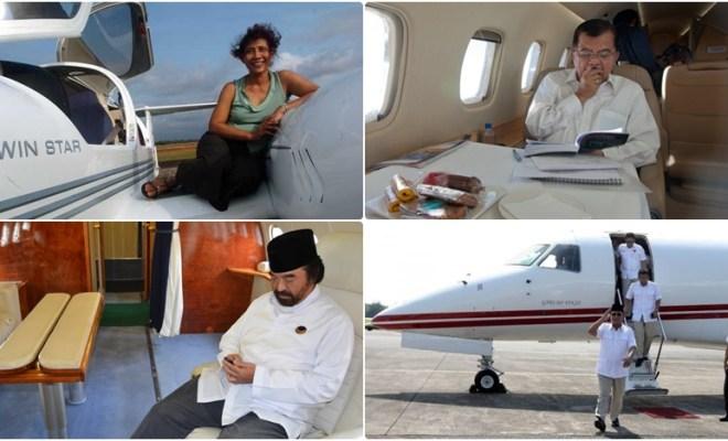 Dari Prabowo Hingga Susi Pudjiastuti, Berikut Nama-nama Crazy Rich RI yang Punya Jet Pribadi