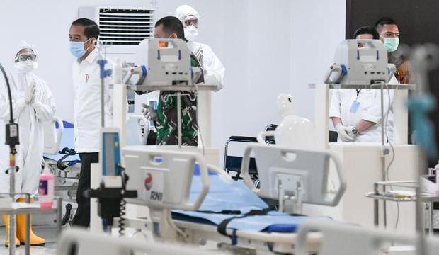 Kenalkan Alat Kesehatan Lawan Covid-19 Buatan Dalam Negeri, Jokowi: Sektor Kesehatan Indonesia Lebih Mandiri