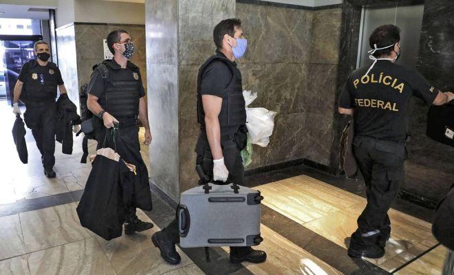 Polisi Brasil Gerebek Kediaman Gubernur Rio de Janeiro