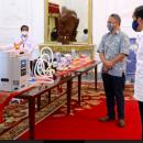 Jokowi Luncurkan Alat Kesehatan Covid-19 Hasil Inovasi Anak Bangsa