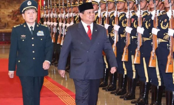 Menhan China Wei Fenghe Telepon Prabowo Subianto, Ada Apa?