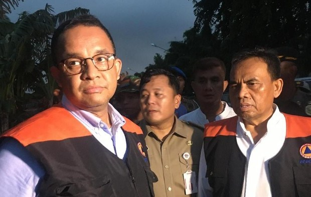Anies Sunat Habis Anggaran Banjir dan Infrastruktur DKI Jakarta Akibat Merebaknya Corona